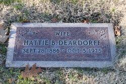 Hattie Bessie <I>Garvey</I> Deardorff