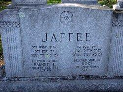 """Barnett Louis """"B.L."""" <I>Jaffe</I> Jaffee"""