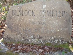 Blalock-Thompson Cemetery