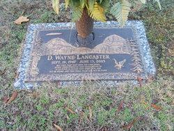 D Wayne Lancaster