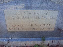"""Emma Isabelle """"Emmer"""" <I>Huneycutt</I> Hatley"""