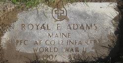 Royal Edward Adams