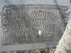 Ola <I>Wooton</I> Smith