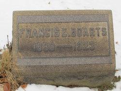 Francis E Boarts