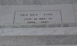 Ora Ola <I>Irick</I> Fish