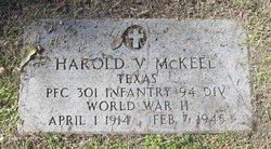 Harold V McKeel