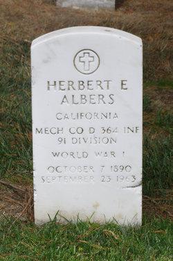 Herbert Eugene Albers