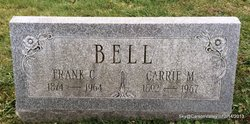 Carrie M <I>Davis</I> Bell