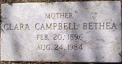 Clara <I>Campbell</I> Bethea