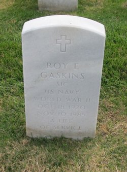 Roy E Gaskins