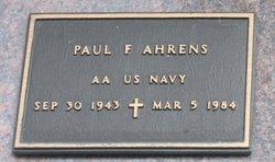 Paul F Ahrens