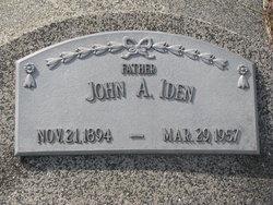 John A. Iden