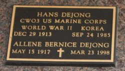 Allene Bernice Dejong