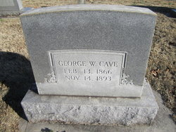 George W Cave