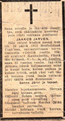 Jacob Jarvi