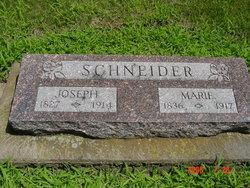 Marie <I>Pfarrer</I> Schneider