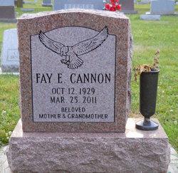 Fay Elizabeth <I>Wolf</I> Cannon