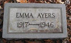 """Frances Emily """"Emma"""" Ayers"""