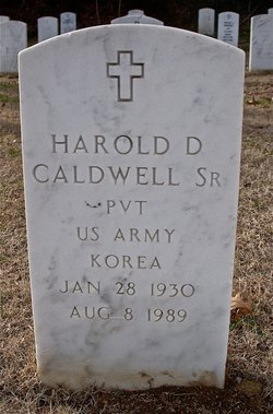 Harold D Caldwell, Sr