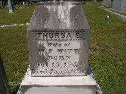 Thursea Elizabeth <I>Livingston</I> Witt