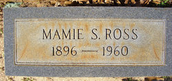 Mamie Pearl <I>Sanders</I> Ross