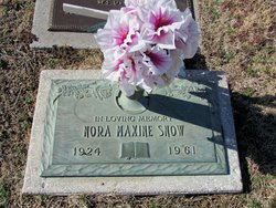 Nora Maxine <I>Ball</I> Snow