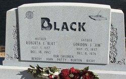 """Roberta Jean """"Bert"""" <I>Barnhart</I> Black"""