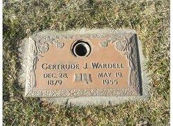 Gertrude J. Wardell