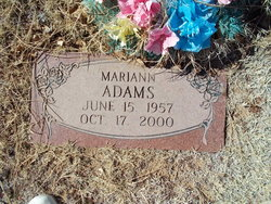 Mariann <I>Wilson</I> Adams