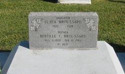 Bertille <I>Comeaux</I> Broussard