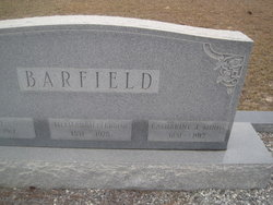 Catherine J. <I>Minor</I> Barfield