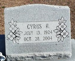 """Cyrus A """"Cy"""" Bell"""