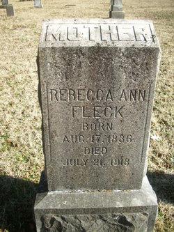 Rebecca Ann <I>Beers</I> Fleck