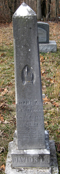 Mary Ann <I>Ramer</I> Davidson