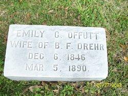 Emily C. <I>Offutt</I> Drehr