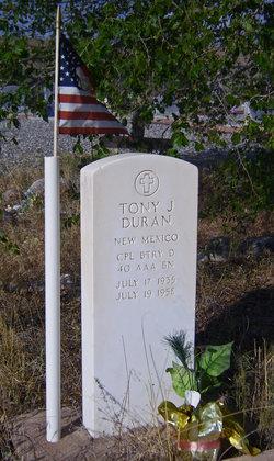 Corp Tony Duran