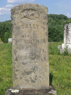 "Sarah ""Sally"" <I>White</I> Hieronymus"