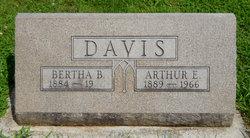 Bertha B <I>Shepard</I> Davis