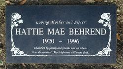 Hattie Mae <I>Harbison</I> Behrend