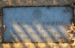 Thomas Warren Bidwell