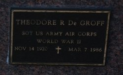 Theodore R Degroff
