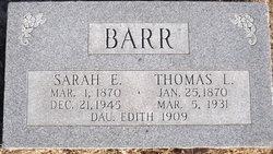 Thomas Leonard Barr
