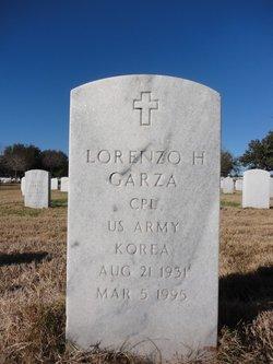 Lorenzo H Garza