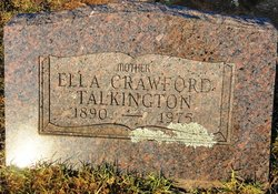 Ella <I>Crawford</I> Talkington