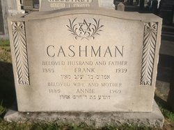 Annie <I>Ginsberg</I> Cashman