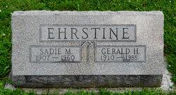 Sadie M Ehrstine