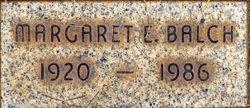 Margaret Elizabeth <I>Brown</I> Balch