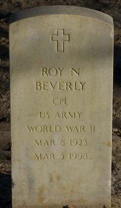 Roy N Beverly