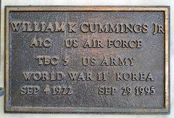 William K Cummings, Jr