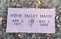 "Nova Lucille ""Novie"" <I>Talley</I> Mann"